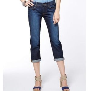 Lucky Brand Janet Sweet n Straight Crop size 10/30